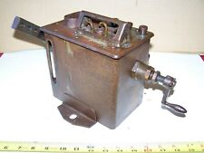 Old MADISON KIPP 3-Feed International Harvester Mogul Hit Miss Gas Engine Oiler