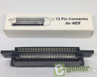 Nintendo NES 72 Pin Connector Fix Red Light Flashing Problem Replacement E-Gamer