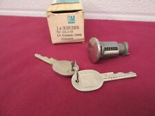 NOS 1964-1990 GM Manual Tail Gate or Lift Gate Lock w/Keys (CODED) GM 338285  dp