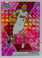 KZ Okpala RC 2019-20 CAMO PINK MOSAIC PRIZM Rookie Card #210 Miami Heat SP NBA