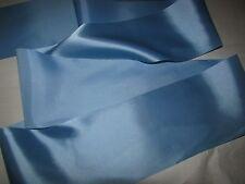 """Navy Blue Satin Edging Solid hq Organza Ribbon 1.5/"""" Wide 25 Yd Yard Roll"""