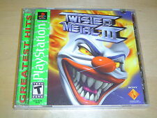 TWISTED METAL 3 SONY PLAYSTATION *BRAND NEW*