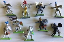 Wm Britains DEETAIL KNIGHTS AND TURKS .9 In Total