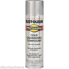 3 Pk 20 Oz RustOleum Professional Cold Galvanized Compound Spray Paint 7585-838