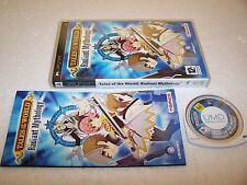 Tales of the World Radiant Mythology-Sony PSP-boxed complete-MINT RPG