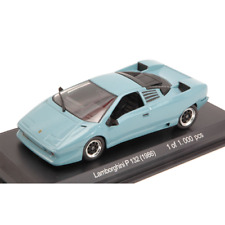LAMBORGHINI P 132 1986 CINDERBLUE 1:43 Whitebox Auto Stradali Die Cast