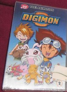1 VHS MANGA DIGIMON DIGITAL MONSTERS PRIMA SERIE 2,ANIME INEDITO DVD pokemon,tai