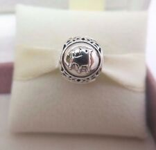 New w/Box-Tag Pandora Sterling Silver Taurus Bull Zodiac Birthday Charm #791937