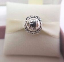 New w/Box-Tag Pandora Sterling Silver Taurus Bull Zodiac Birthday Charm #791937
