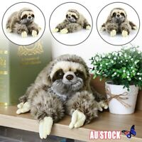 """13.7"""" Sloth Plush Cuddly Critters Lying Three Toed Cuddly Soft Stuffed Toy Gifts"""