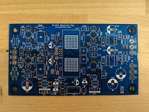 DIY PCB plus Tube - Balanced (differential) preamp/head amp using Korg Nutube