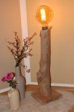 Handgefertigte Massivholz Lampe 111cm,Stehlampe,Loftlampe,Landhaus,Retro,Vintage