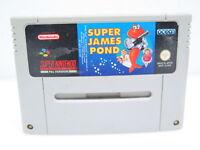Super James Pond | SNES Super Nintendo Spiel Videospiel | nur das Modul | PAL