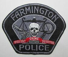 New Mexico State San Juan County Farmington Violent Crime Detective Patch