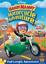 HANDY MANNY MANNY'S MOTORCYCLE ADVENTURE New DVD
