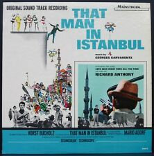 THAT MAN IN ISTANBUL L'HOMME D'ISTANBUL RICHARD ANTHONY LP 33T B.O FILM 1965 USA