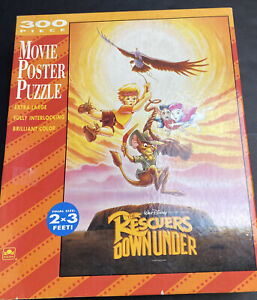NEW Disney The Rescuers Down Under 300 Piece Large Movie Poster Puzzle 2'x3'