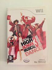 jeu Wii High school musical 3 dance ! Nos années lycée