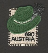 AUSTRIA 2018 STYRIAN HAT EMBROIDERED COMP. SET OF 1 STAMP IN MINT MNH UNUSED