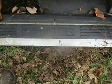 1992-2011 Ford Ranger Front Right or left  Side Door Sill Black Scuff used