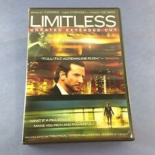 Limitless (DVD/2011/Unrated) Neil Burger Bradley Cooper/Abbie Cornish/De Niro