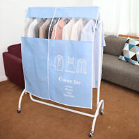 Amazing Colors No Dust Standing Hanger Cover Clothes Dress Display Protector