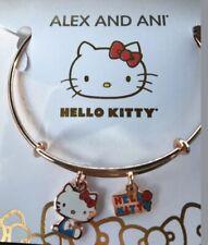 Alex and Ani Hello Kitty Duo Bangle Bracelet Shiny Rose Gold