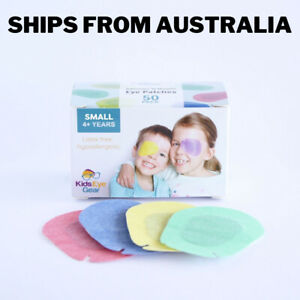 Kids Eye Gear Adhesive Eye Patches for Kids Lazy Eye SMALL MIXED Box 50 RBGY