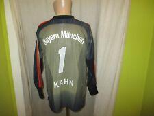 FC Bayern München Original Adidas Torwart Trikot 2003/04 + Nr.1 Kahn Gr.M TOP
