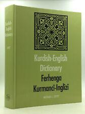 KURDISH-ENGLISH DICTIONARY / FERHENGA KURMANCI-INGLIZI - Michael L. Chyet - 2003