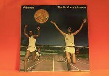 BROTHERS JOHNSON - WINNERS - A&M 1981 GATEFOLD W/LINER EX LP VINYL RECORD -V