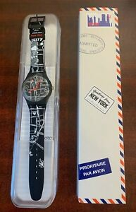 """DESTINATION SWATCH Greetings from NEW YORK New York in Box SUOZ244 """"LIMITED"""""""