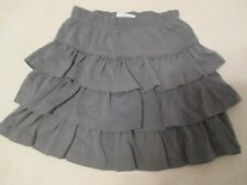 Hanna Andersson Size 110 Girls Solid Grey Skirt