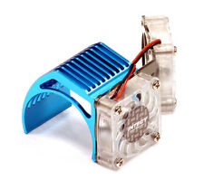 INTEGY RC Car 2961LIGHTBLUE Twin Motor Cooling Fan + Heatsink 540/550