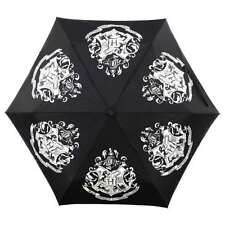 HARRY POTTER HOGWARTS CREST COLOUR CHANGING UMBRELLA BROLLY NEW WITH TAGS