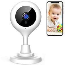 Camara De Vigilancia Para Bebes Con Camara Wifi 1080P Fhd Camara De Segurida...