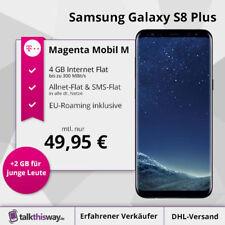 Samsung Galaxy S8 Plus + Telekom Magenta Mobil M|Allnet-Flat|SMS|4GB LTE|EU-Flat