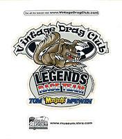 Drag Racing NHRA Sticker Decal Tom The Mongoose McEwen silver