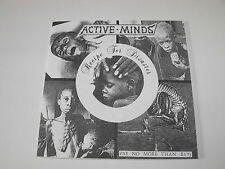 "ACTIVE MINDS - ""Recipe For Disaster"" 7"" EP. Political hardcore punk."