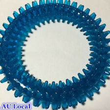 Blue Pet Dog Puppy Chew Toy Play Playing Ring Fetch Toy PTROL0102