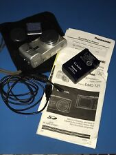 Panasonic LUMIX DMC-TZ3 7.2MP 10x Optical Zoom Lens Silver UVGC Bundle