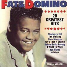 Fats Domino 20 greatest hits (DK)  [CD]