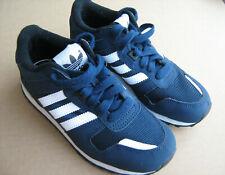 adidas ZX 700 Junior Running Shoes US 1/UK 13.5K/EU 32/CHN 195 Boy Trainers Blue