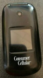Huawei U3900 Consumer Cellular Black Cellular Phone Fast Shipping Very Good Used