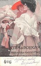 A6508) CITTA' DI BOLOGNA 1903 FESTE DI PRIMAVERA. ILL. DUDOVICH. VG.