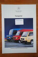 Prospekt MERCEDES TRANSPORTER Kastenwagen 510 - 814 DA 04/1993 TOP-ZUSTAND