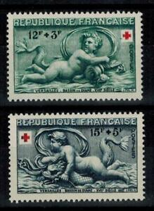 timbres France n° 937/938 neufs** année 1952