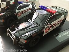 Carrera Evolution 27252 Dodge Charger SRT 8 USA Police Blaulicht 2006 NEU OVP
