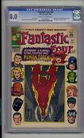 Fantastic Four #54 CGC 8.0 VF Unrestored Marvel 3rd Black Panther Inhumans CR/OW