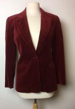 2 Womens Compagnie Internationale EXPRESS Marque Deposee Velour Blazer S 1/2